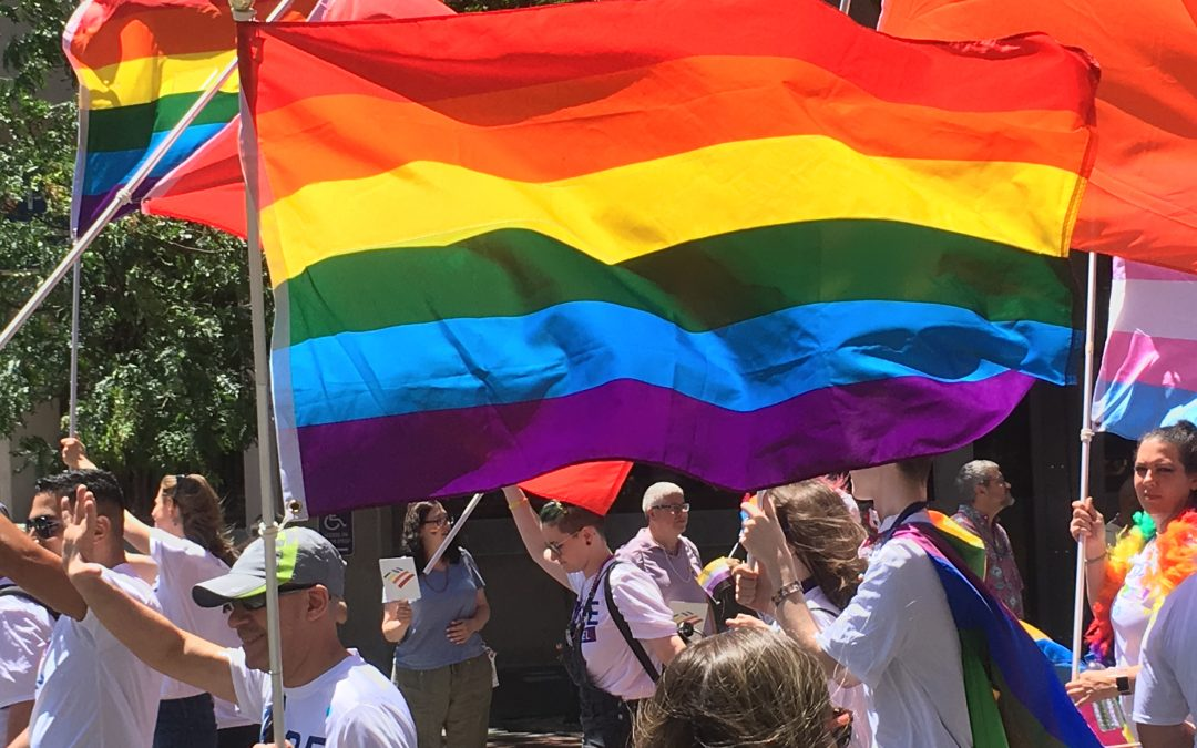 A Writer, Conference & Pride Parade Meet in Philly