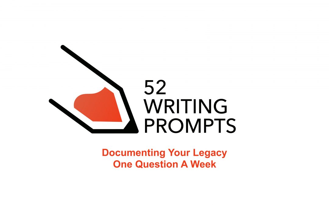 52 Writing Prompts – Week 1