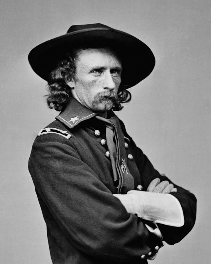 Gen George Custer - public domain